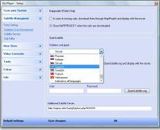 Скриншот 9 из 9 программы ALLPlayer