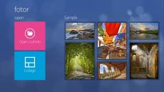Скриншот 2 из 2 программы Fotor