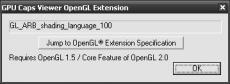 Скриншот 4 из 10 программы GPU Caps Viewer