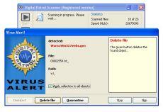 Скриншот 1 из 1 программы Digital Patrol