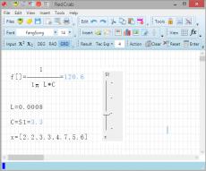 Скриншот 1 из 4 программы RedCrab Calculator
