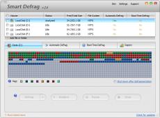 Скриншот 2 из 6 программы IObit SmartDefrag