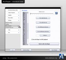 Скриншот 7 из 9 программы ALLPlayer