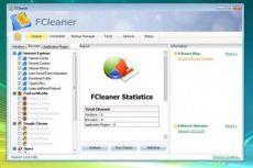Скриншот 2 из 2 программы FCleaner