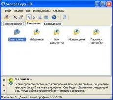 Скриншот 1 из 1 программы Русификатор Second Copy