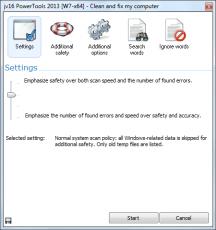 Скриншот 2 из 2 программы jv16 PowerTools