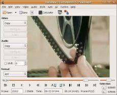 Скриншот 1 из 2 программы Avidemux