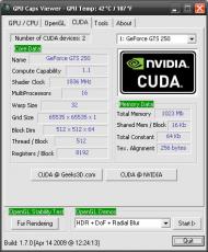 Скриншот 5 из 10 программы GPU Caps Viewer