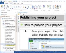 Скриншот 2 из 6 программы Help & Manual