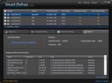 Скриншот 3 из 6 программы IObit SmartDefrag