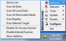 Скриншот 4 из 4 программы TrustPort Internet Security