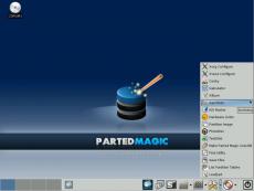 Скриншот 3 из 3 программы Parted Magic