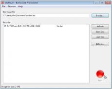 Скриншот 1 из 3 программы BurnAware