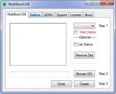 Скриншот 3 из 3 программы MultiBootUSB
