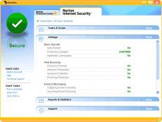 Скриншот 1 из 1 программы Norton Internet Security 2012