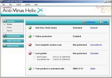 Скриншот 1 из 1 программы Lavasoft Anti-Virus Helix