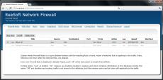 Скриншот 1 из 3 программы ReaSoft Network Firewall
