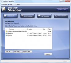 Скриншот 1 из 6 программы Steganos Privacy Suite