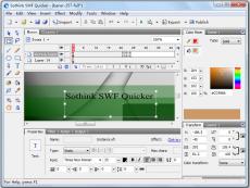 Скриншот 1 из 5 программы Sothink SWF Quicker