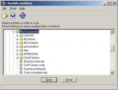 Скриншот 6 из 6 программы ClamWin Free Antivirus