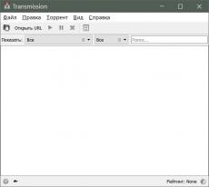 Скриншот 1 из 2 программы Transmission