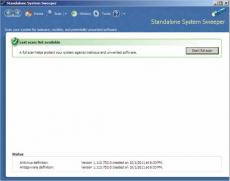 Скриншот 2 из 3 программы Microsoft Standalone System Sweeper Tool