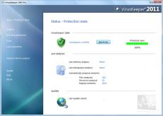 Скриншот 1 из 1 программы VirusKeeper 2011
