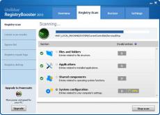 Скриншот 2 из 4 программы Registry Booster