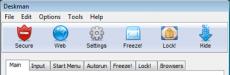 Скриншот 1 из 2 программы Deskman