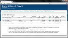 Скриншот 2 из 3 программы ReaSoft Network Firewall