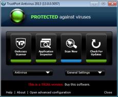 Скриншот 2 из 4 программы TrustPort Antivirus