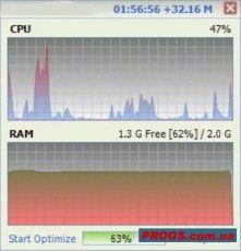 Скриншот 1 из 1 программы RAMRush