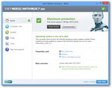 Скриншот 3 из 4 программы Антивирус Eset NOD32
