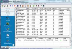 Скриншот 2 из 2 программы Nsauditor Network Security Auditor