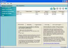 Скриншот 1 из 2 программы Diskeeper Home Edition
