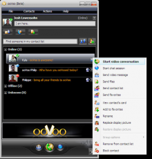 Скриншот 4 из 6 программы ooVoo