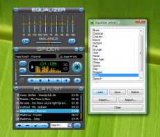 Скриншот 5 из 10 программы Spider player