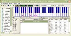 Скриншот 1 из 1 программы Караоке-в- Текст -с-Аккордами