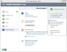 Скриншот 1 из 3 программы ESET NOD32 Smart Security