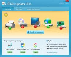 Скриншот 1 из 4 программы Carambis Driver Updater