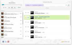 Скриншот 2 из 2 программы Freemake Music Box