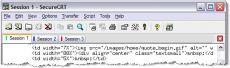 Скриншот 1 из 1 программы SecureCRT