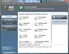 Скриншот 1 из 1 программы AVG AntiVirus Update