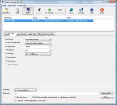 Скриншот 2 из 4 программы XMedia Recode