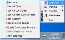 Скриншот 3 из 4 программы TrustPort Antivirus