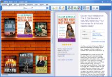 Скриншот 3 из 3 программы All My Books