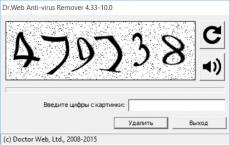 Скриншот 1 из 1 программы Dr.Web Anti-virus Remover