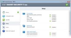 Скриншот 2 из 3 программы ESET NOD32 Smart Security