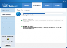 Скриншот 4 из 4 программы Registry Booster