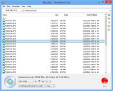 Скриншот 2 из 3 программы BurnAware